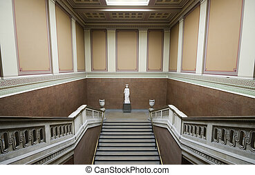 scala, greco, museo, britannico