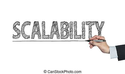 scalability written by hand