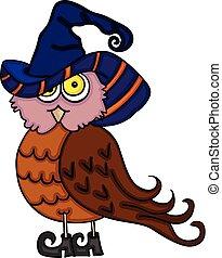 Halloween cute owl