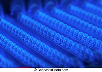 scaldabagno, fornace, gas, urente