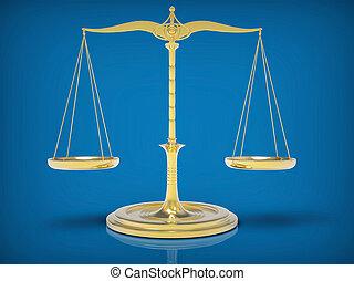 scale., balance, concept., peso, 3d