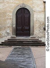 scale, casa, vecchio, toscana, porte