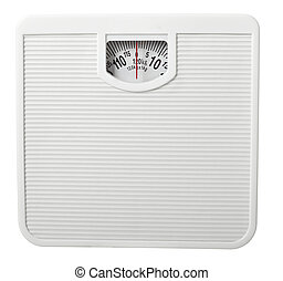 scale libra measurement tape diet - close up of scale on...