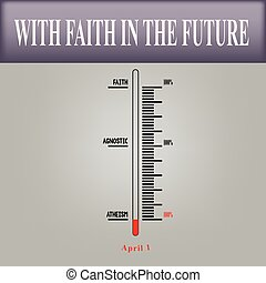 National Day Atheist - Scale measurement faith to National...