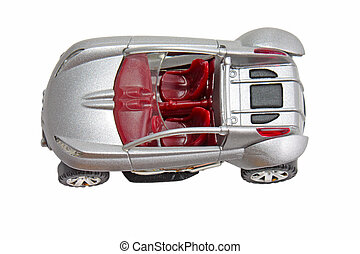 Scale model car
