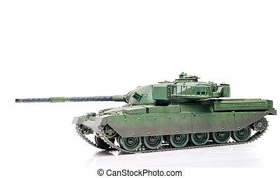 Great britain tank - Scale model of  Great britain tank