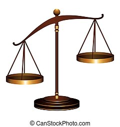 scale of justice law