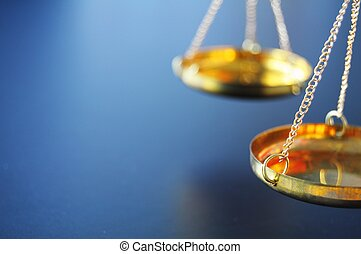 scale - sclaes with copyspace showing law justice or court...