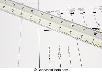 Scale Ruler on Drawing