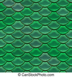 Scale - Seamless fish scale background