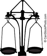 scale silhouette