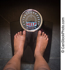 scale that speaks and tells the truth, help!