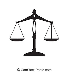 Scale - vector scale of justice