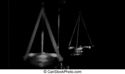 Scales As Symbol Of Law And Justice