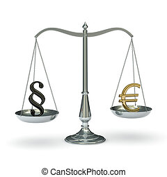 Scales law and euro