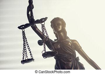 Scales of justice (Justitia)