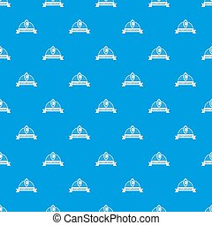 Scales pattern seamless blue