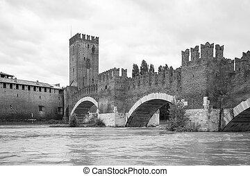Castle in Verona, Italy