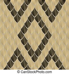scaly seamless pattern, reminiscent of snake skin