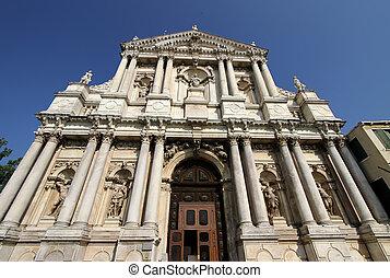 Scalzi Church (Chiesa degli Scalzi) in Venice