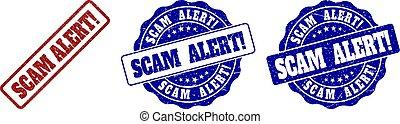 SCAM ALERT! Scratched Stamp Seals