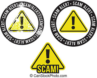 Scam Alert Warning