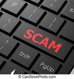 scam, clavier