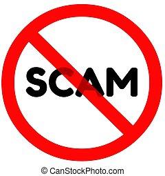 scam, signe