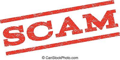 Scam Watermark Stamp