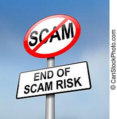 scam, zone., gratuite