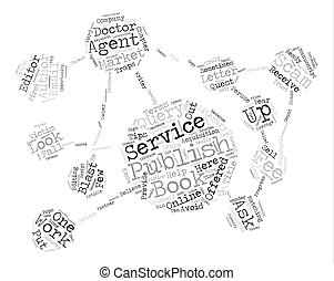 Scams Schemes And Shams Who Can An Author Trust text background word cloud concept