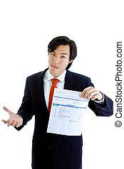 scan., codici, ostile, isolato, conto medico, gesture., relativo, dovuto, passato, fondo., vario, asiatico, presa a terra, completo, bianco, uomo, espressione, ct