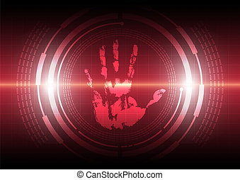 scan handprint technology