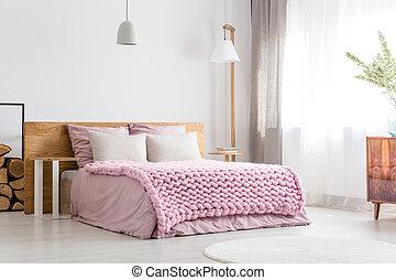 Scandinavian classic bedroom
