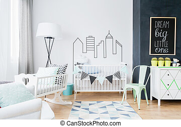 Scandinavian inspirations making the baby room cosy and ...