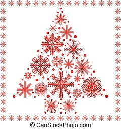 Scandinavian style Christmas tree 2