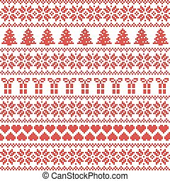 Scandinavian style, Nordic pattern