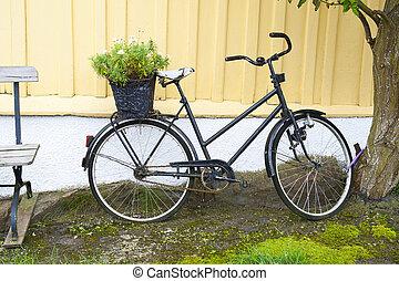 scandinavische, fiets