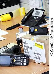 scanner, barcode