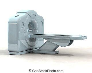 scanner, render, katz, 3d, oder, ct
