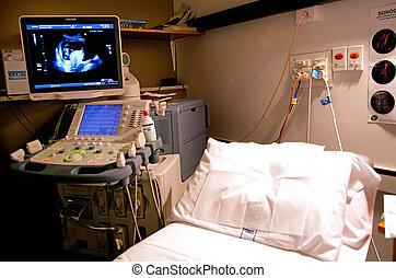 scansione, apparecchiatura, ultrasuono