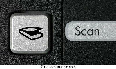 scansione, bottone