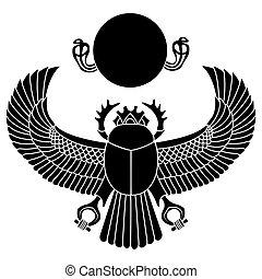 scarabée, vecteur