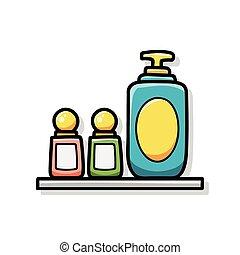scarabocchiare, shampoo