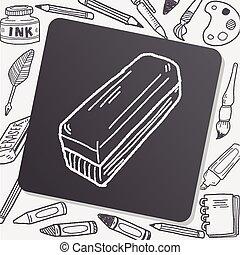 scarabocchiare, whiteboard, gomma