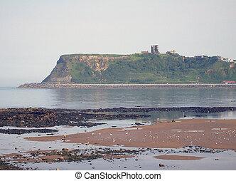 Scarborough Castle view