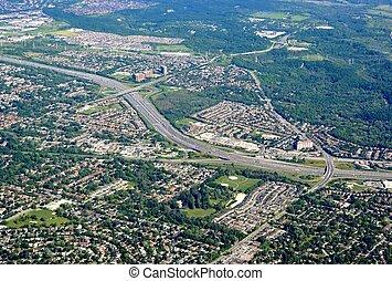 Scarborough Ontario aerial