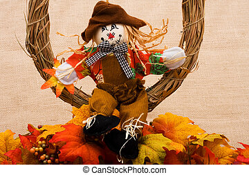 Scarecrow hanging out