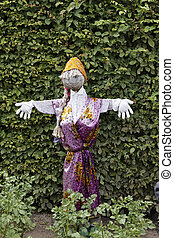 Scarecrow in Germany, Europe