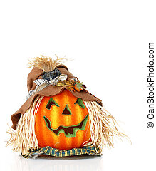 Scarecrow Pumpkin Head